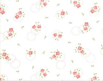 Sugarcreek White Flower Girl by Corey Yoder (Little Miss Shabby) for Moda (29072 22)