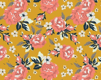 Golden Days Mustard Main by Fancy Pants Design for Riley Blake Designs (C8600-MUSTARD) - Cut Options Available