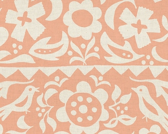 Ruby Star Society Alma Peach Market Floral by Alexia Abegg (RS4001 18)  - Pink Floral Fabric - Cut Options Available