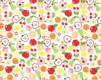 Orchard Bounty - White - April Rosenthal Orchard for Moda Fabrics (24071 11)