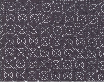 "Little Tree by Lella Boutique - Embossed - Chalkboard (5095 14)  Lella Boutique Little Tree for Moda Fabrics - 33"" remnant"