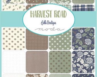 Harvest Road Half Yard Bundle by Lella Boutique for Moda - Quilting Cotton Fabric - 29 Half Yards - PREORDER