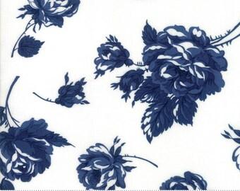 Smitten Navy Cream Rosy Bonnie & Camille  (55170 25) - Fat Quarter
