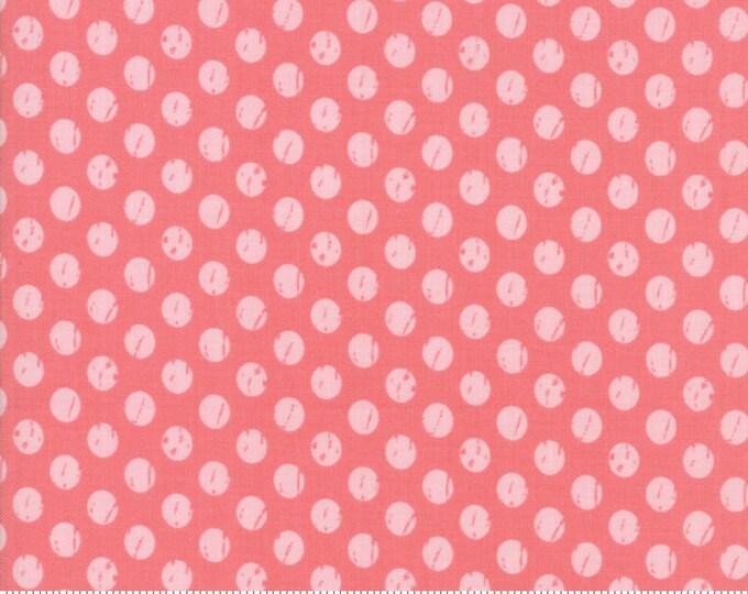 Lollipop Garden Whitewashed Dots - Raspberry - Lollipop Garden by Lella Boutique - (5085 13)