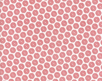 Project Red (5680 11) Red White Circles by Sweetwater