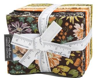 Hallo Harvest Fat Quarter Bundle by BasicGrey (30600AB) for Moda - 34 FQs - Hallo Harvest FQ Bundle - Halloween Fabric
