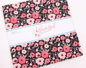 "Glam Girl 10"" Stacker by Dani Mogstad for Riley Blake Designs - Layer Cake (10-8630-42)"