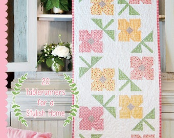 Tablerunner Bliss By Sherri Falls of This and That Pattern Company SALE - Tablerunner pattern book