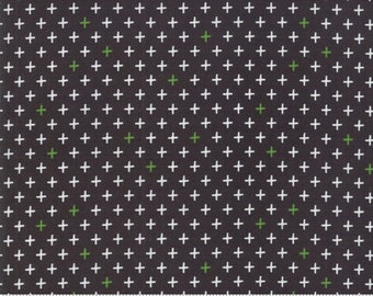 Merry Starts Here - Twinkle - Black - Sweetwater - Moda Fabrics - Christmas Fabric - (5736 13) - Sweetwater Merry Starts Here
