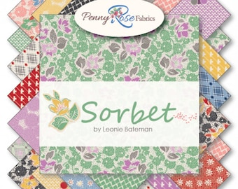 Sorbet by Sue Daley Fat Quarter Bundle (FQ-6710-21)