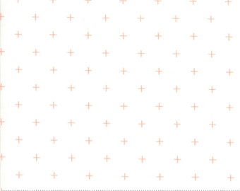 Breeze White Coral Pluses by Zen Chic for Moda Fabrics (1696 12) - Low Volume Fabric - Modern Design - Cut Options Available