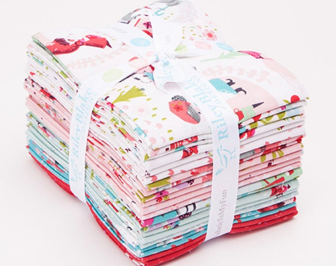 Little Red In The Woods by Jill Howarth - FQ Bundle - (21 pcs)