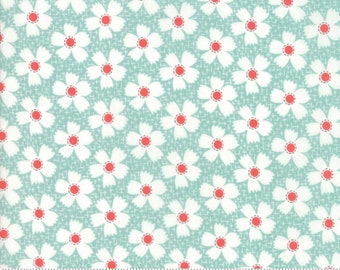 Farmhouse II (20323 14) Pond Daisies Gingham by Fig Tree & Co.
