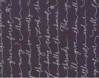 Little Tree by Lella Boutique - Poem - Chalkboard (5093 14)  Lella Boutique Little Tree for Moda Fabrics - Christmas Fabric