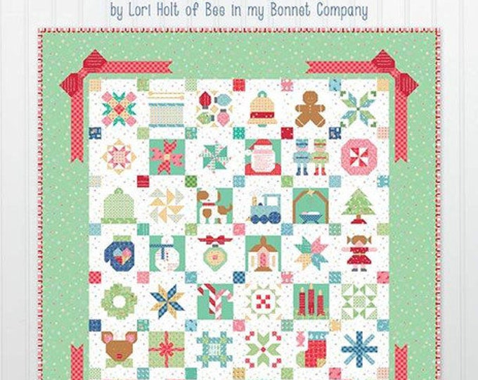 Featured listing image: IN STOCK!!!!  Vintage Christmas  by Lori Holt of Bee in my Bonnet Co.  (ISE 925)