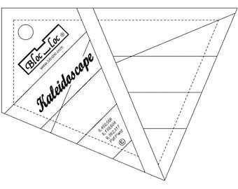 """Bloc-Loc - Kaleidoscope Ruler 8"""" - Quilting Tool"""