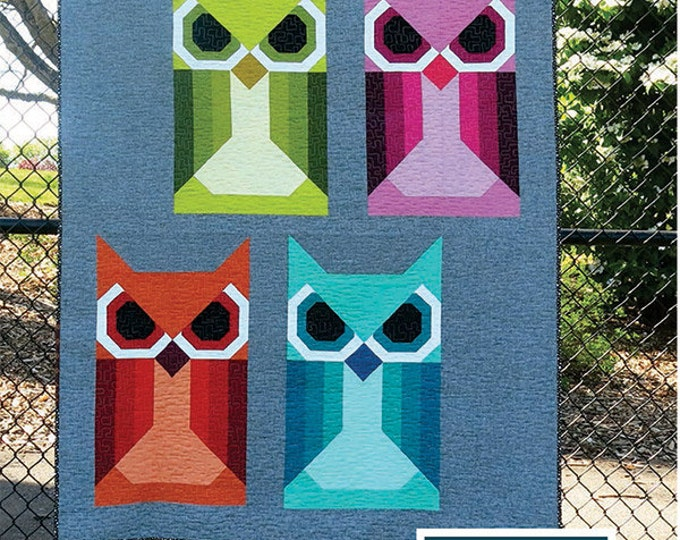 Allie Owl  - Pattern by Elizabeth Hartman (EH 020)