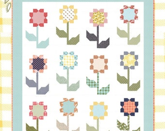 Cottage Blossoms Quilt Pattern by Lella Boutique (LB142)