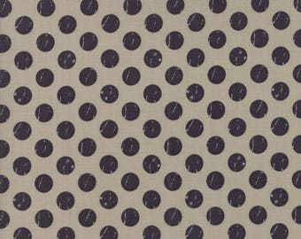 Farmers Daughter (5055 13) Taupe Shabby Dots by Lella Boutique