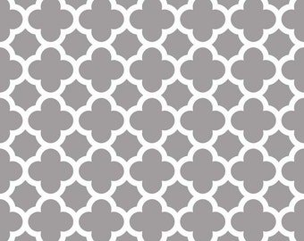 Quatrefoil in Gray (C435-40)  - Fat Quarter