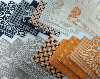 All Hallows Eve -  Fat Quarter Bundle by Fig Tree (20350AB) for Moda - 26 FQs - Fig Tree All Hallows Eve FQ Bundle