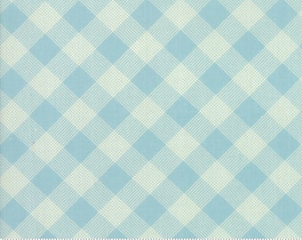 Cheeky Blue Raspberry Picnic Basket by Urban Chiks for Moda Fabrics (31146 14)