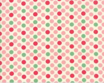 Cheeky Petal and Sweet Cream Dottie by Urban Chiks for Moda Fabrics (31142 11)