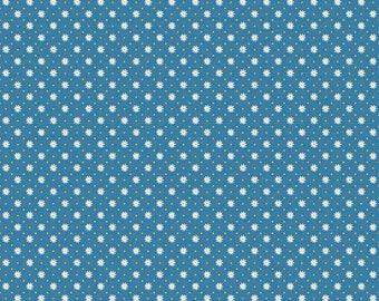Gingham  Girls, By Amy Smart  Flower Blue C5905-Blue