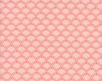 Farmers Daughter (5053 16) Pink Lemonade Fancy Scallops by Lella Boutique