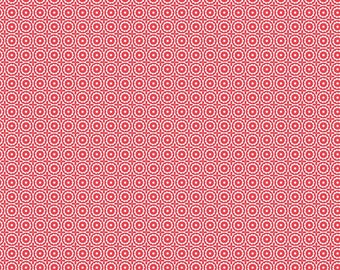 Sugarhouse Park Red Medallion Yardage by Amy Smart (Diary of a Quilter) for Riley Blake Designs (C8891-RED) Cut Options Available