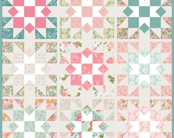 Southern Star Quilt Kit Featuring Grandale by Keera Job