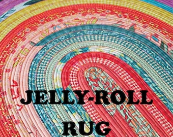 Jelly Roll Rug - Pattern by RJ Designs (RJD 100)