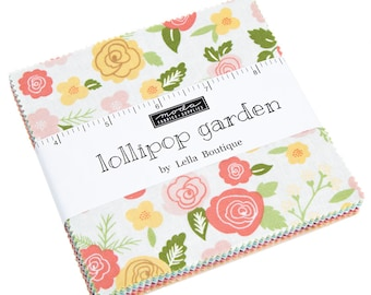 Lollipop Garden Charm Pack by Lella Boutique - 5080PP - Moda Charm Pack