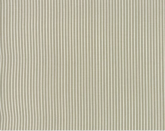 Sweet Tea Stripe in Taupe by Sweetwater for Moda Fabrics - (5726-11) - Fat Quarter