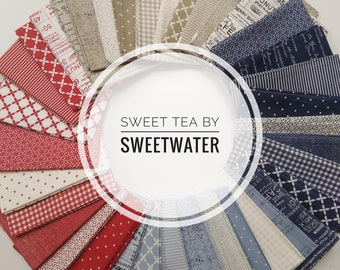 IN STOCK: Sweet Tea by Sweetwater (5720AB) Fat Quarter bundle - 37 FQ's by Sweetwater for Moda Fabrics