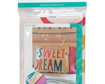Sweet Dreams Pillow Panel from Cut, Sew, Create by Stacy Iest Hsu - Perfect Sewing Projects for Beginners and Children!