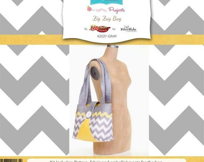 Zig Zag Bag - Sew Together Project by Riley Blake Designs