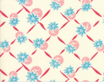 Cheeky Blue Raspberry and Sweet Cream Giggles by Urban Chiks for Moda Fabrics (31144 11)