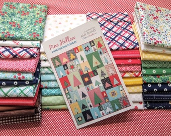 Pine Hollow Patchwork Forest Quilt Kit, Featuring Sugarhouse Park by Amy Smart (Diary of a Quilter) - Join Her Sew Along!