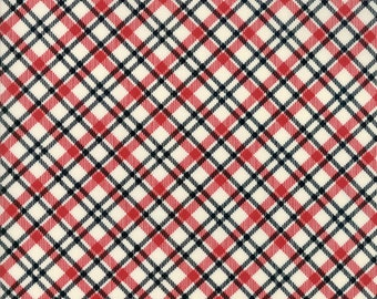 Overnight Delivery (5708 13) Black Red Plaid by Sweetwater