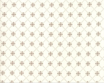 Scarlet and Sage Ivory Pebble Trellis by Fig Tree & Co. for Moda (20367 26) - Cut Options Available
