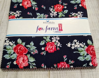 Fox Farm Layer Cake by Melissa Mortenson of Polka Dot Chair for Riley Blake Designs (10-8260-42)