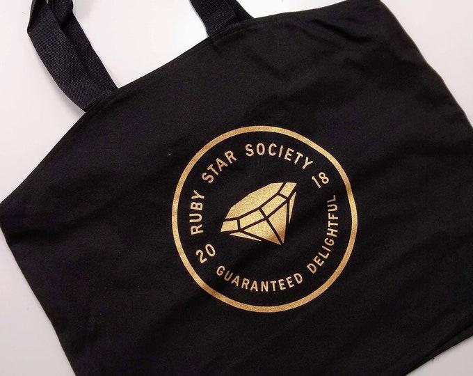 Ruby Star Society Tote Bag