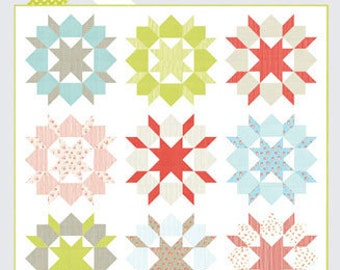 Swoon Quilt Pattern by Thimble Blossoms for Moda Fabrics (TB 142) - Fat Quarter friendly!
