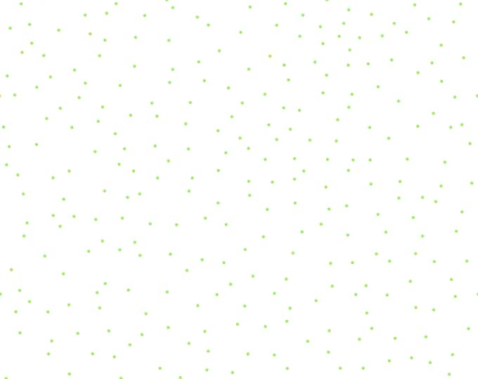 Pin Dot Green (Green Scatter Dot Fabric) Seasonal Basic by Lori Holt of Bee in my Bonnet for Riley Blake (C705-GREEN)