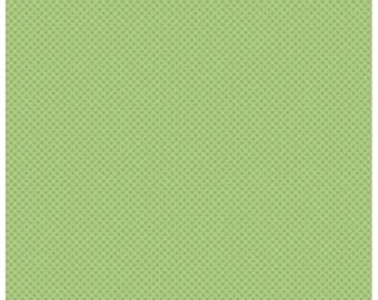 Kisses Tone on Tone Green (C210) - Riley Blake Designs