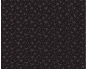Riley Blake Designs, Tone-on-Tone Calico Black (C740-110)