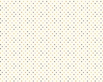 "Fab-Boo-Lous Diamonds - Cream (C8176 CREAM) Fab-boo-lous by Dani Mogstad for Riley Blake Designs - 33"" remnant"