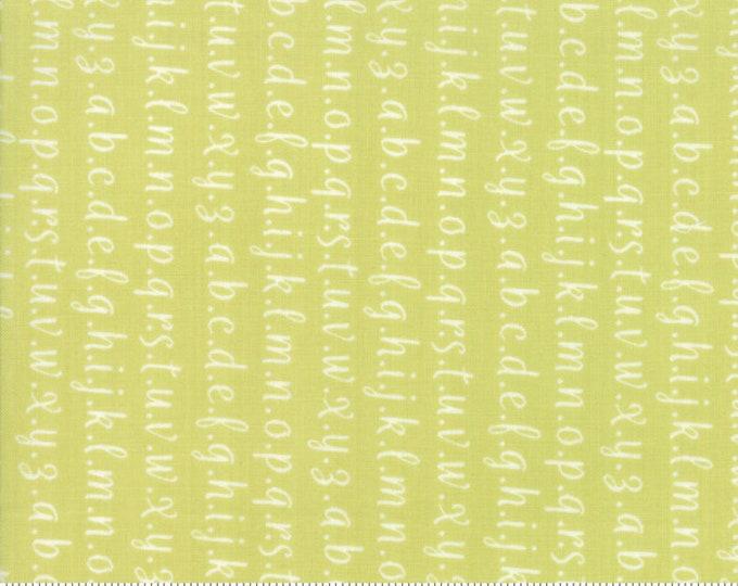 Strawberry Jam Seedling Alphabet by Corey Yoder (Little Miss Shabby) for Moda (29065 27)