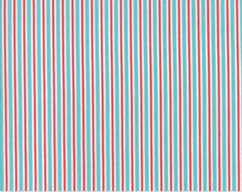 Sweet Christmas - Candy Cane Stripe- Coolmint (31155 22) Urban Chiks Sweet Christmas Moda - Quilting Fabric - Cut Options Available